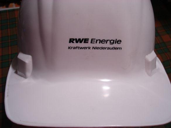 Каска предпазна за служители в сферата на енергетиката