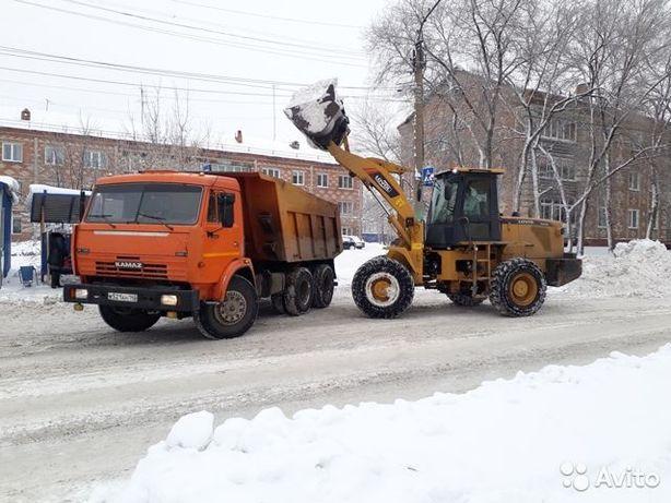 Уборка снега 2020