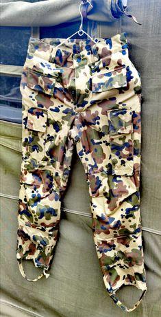 Pantaloni camuflaj de iarna