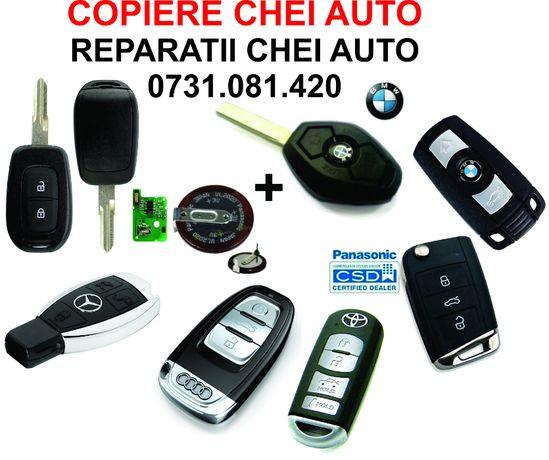 Chei auto/Telecomenzi auto/Componente chei-reparatii