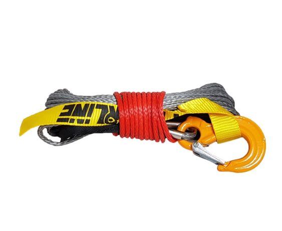 "Cablu sintetic,sufa,plasma,troliu/5mm,6mm/15 m/""PowerLine""cu cârlig"