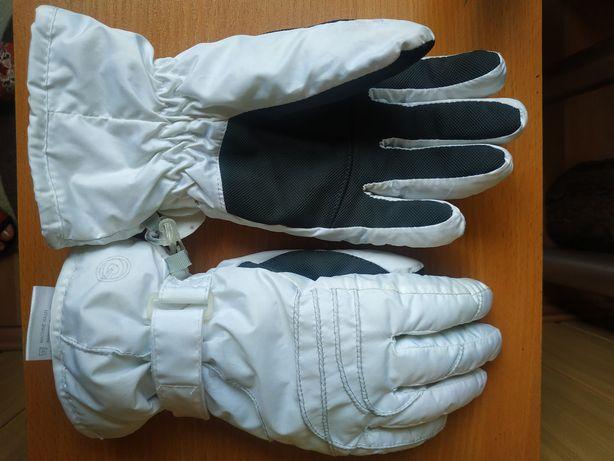 Лыжные женские перчатки р.7,5