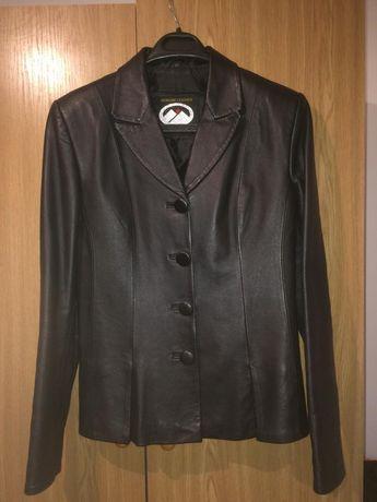 Куртка-пиджак кожаный