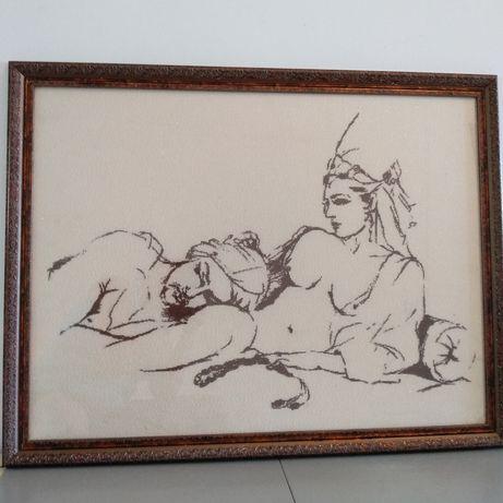 Картина , вышивка крестом