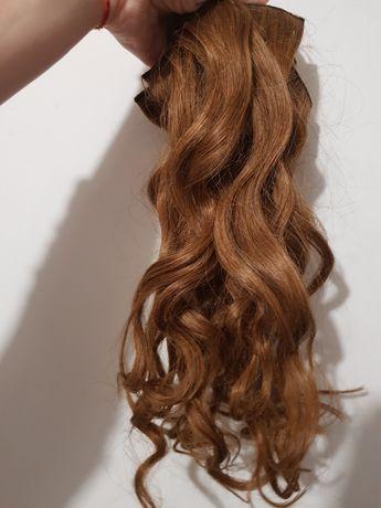 Екстеншъни естествен косъм 7 части