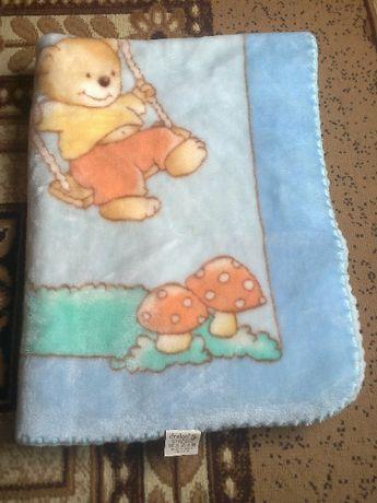 меко и топло бебешко одеяло