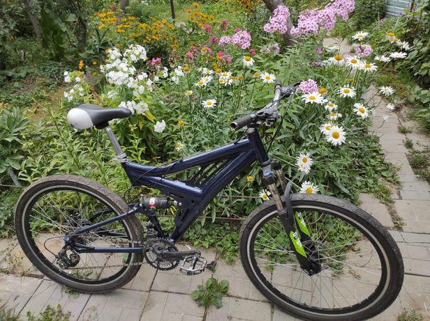 Велосипед двухподвес