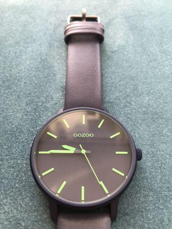 Ceas de mana Oozoo Colorful 45 mm albastru inchis/ verde, tipul C10382