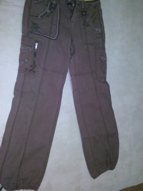 Pantaloni pescaresti cu buzunare