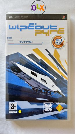 wipeout pure PSP PlayStation Portable