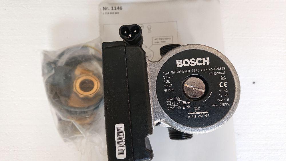 Pompa turatie variabila pentru Junkers Cerapur, Bosch Condens 7000