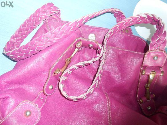 Ефектни дамски чанти - Естествена кожа