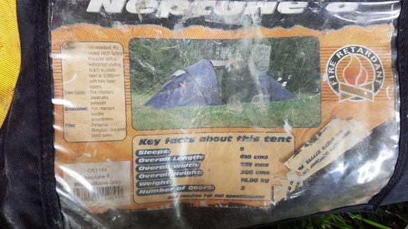 Четириместни палатки ( палатка за 8 човека)