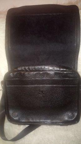 Чанта тип Messenger, от естествена кожа, на АРТ 93