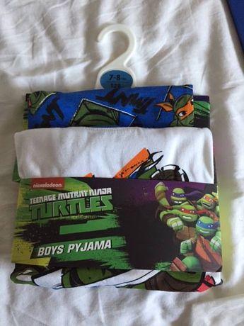 pijamale baieti, mâneca lunga, noi, 7-8 ani, Nickelodeon, Ninja