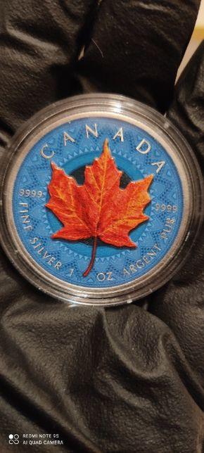 Moneda argint 999.Canada 5 Dollars 2020.1 oz 31,1 Gr. Limited Ed.
