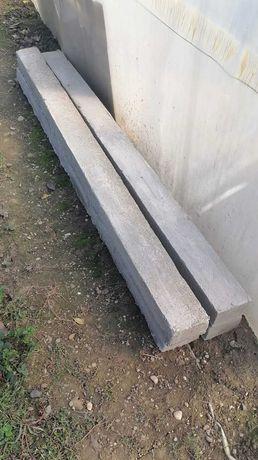 Stâlpi din beton pentru gard sau viță de vie