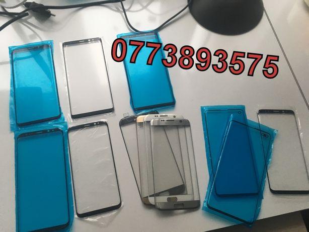 Sticla touchscreen display spart Samsung Galaxy S7 Edge S8 S8 Plus S9