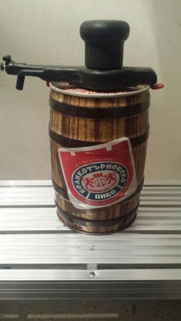 Кег от бира ретро спомен от Соц времето
