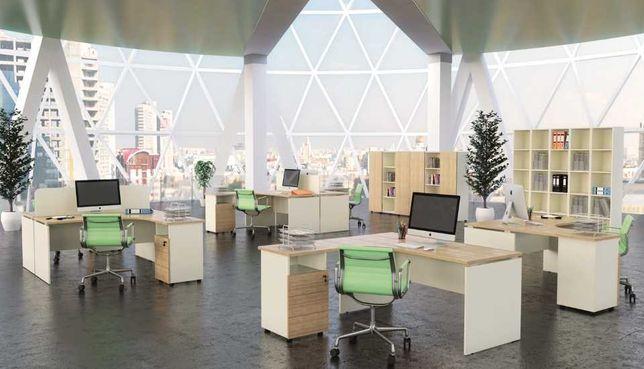 Офисная мебель - столы, шкафы, ресепшн, кабинет руководителя