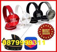 Безжични блутут слушалки JBL Everest JB950 fm radio usb handsfree blue