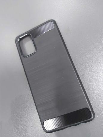 Husa Carbon si folii camera husa este noua Samsung A71