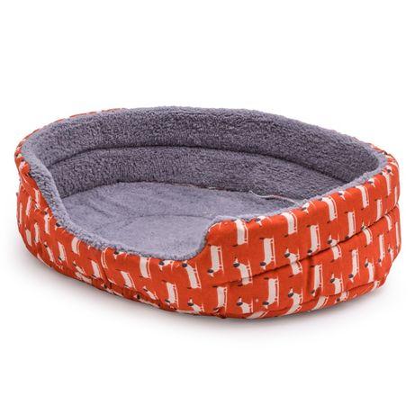 Легло текстил с полар ВЕСЕЛИЕ за куче или котка