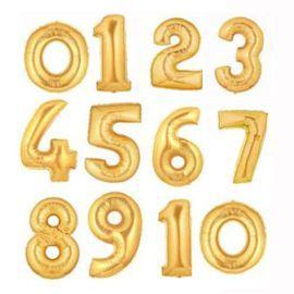 Балони фолиеви цифри