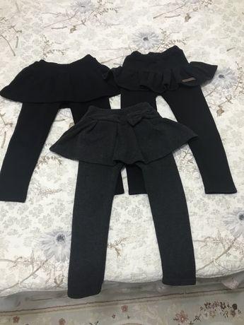 Детский пакет вещей джинсы,кофточки,лосины,футболки,шорты,юбки,пижамы