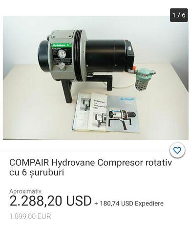 Compresor profesional Hydrovane 6