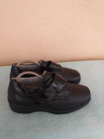 Pantofi noi Medifoot piele nr 40