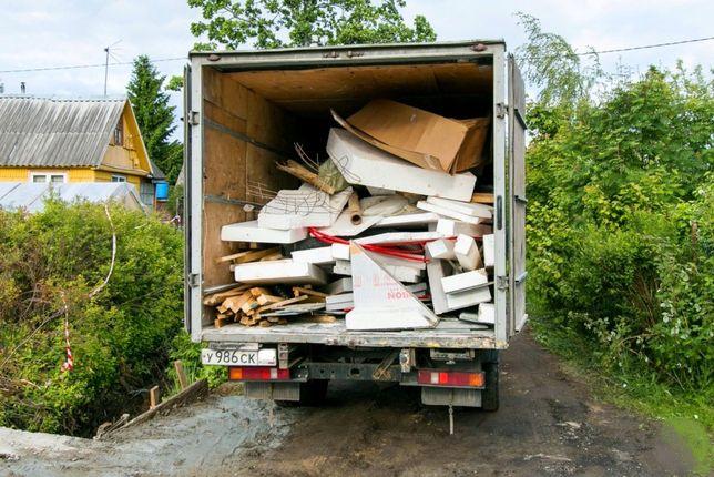 Вывоз мусора Газель Вывоз хлама ,уборка територии , вывоз старой мебел