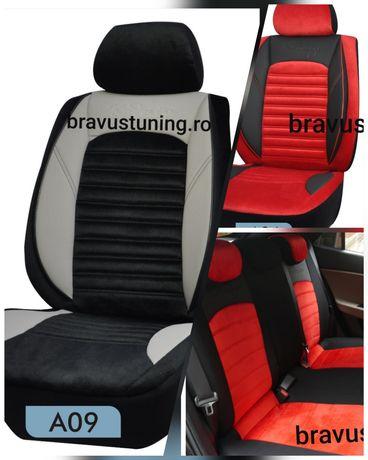 Huse scaun auto Elitte material tip Alcantara,universale