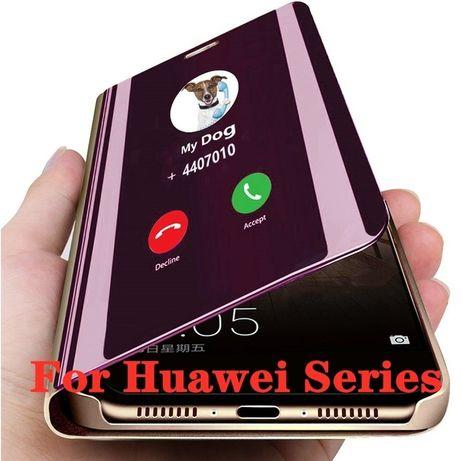 Carcasă cu oglindă flip Huawei