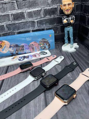 M16 mini smart warch, apple watch 6 series, м16 мини смарт часы, 40мм