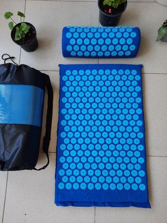 Аппликатор массажный коврик с подушкой + сумочка Кузнецова