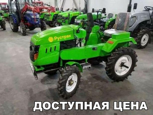 Трактор Рустрак Р-18. В подарок Почвофреза и Плуг. Успей!