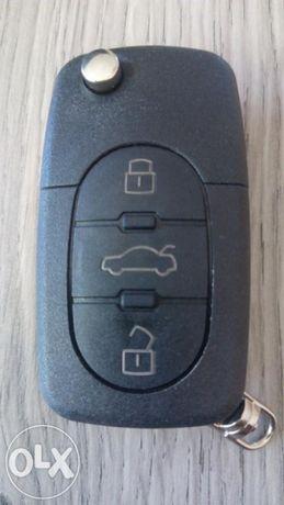 Кутийка за ключ Ауди / Audi 3 бутона
