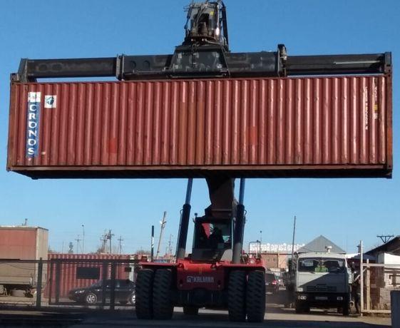 Аренда морского 40-ка футового контейнера. Казахстан, г. Тобыл