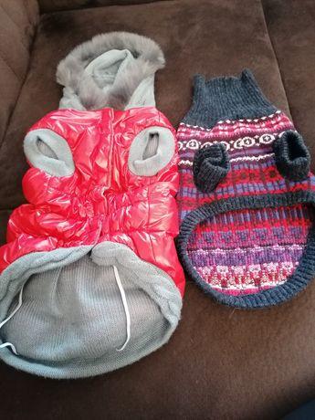 Зимно шушляково яке и пуловерче