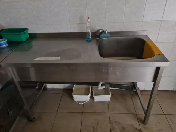 Маси, мивки работни плотове от неръждаема стомана