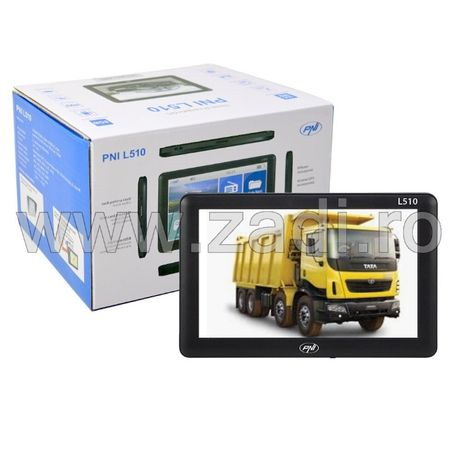 """GPS PNI 5"""" - model L510-upgradat la zi- ideal pentru camion si auto"""