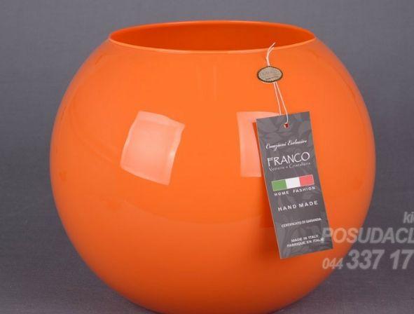 Вазы Круглые Оранжевая