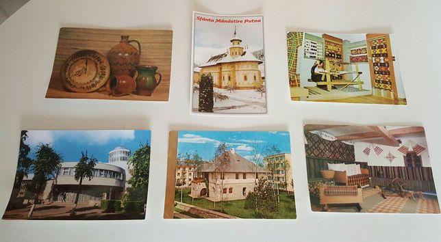 Cărți poştale/Vederi netimbrate +Carnete vechi+Certificate acționar