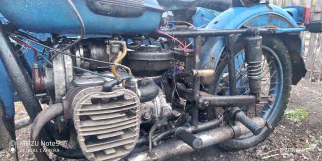 Урал к750 двигатель ирбит м72