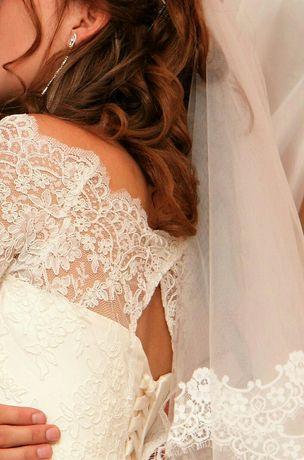 Свадебное платье, 44-го размера