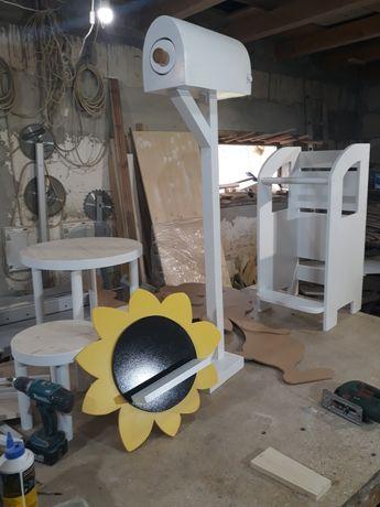 polita model floarea soarelui