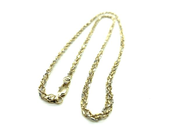 Цепь золото 750 пробы (18K), вес 11,87 гр.