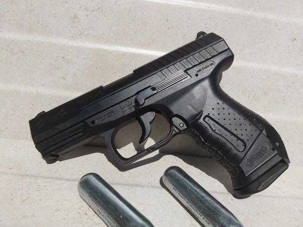 MODIFICAT 4.5j pistol airsoft Walther p99Dao recul FullMetal cadou Co2