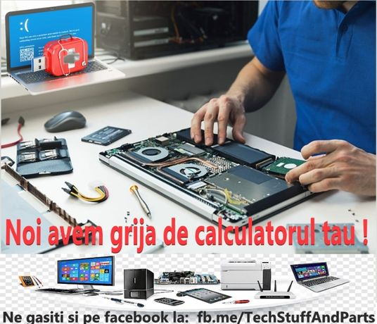 Service,Reparatii pc, laptop, instalari soft (windows,apple,chromebook